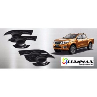 Nissan Navara NP300 2015+ Door Handle Bowl Insert (4pcs/Set) MatteBlack