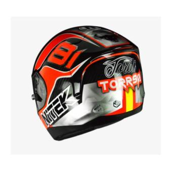 NITEK Handcrafted 00007 P1 Torres Suzuka Full Face Helmet ( 2017 Collection) - LARGE - 5