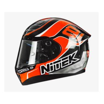 NITEK Handcrafted 00007 P1 Torres Suzuka Full Face Helmet ( 2017 Collection) - LARGE - 2