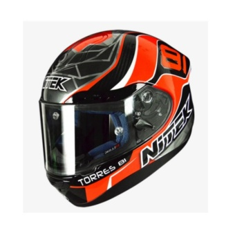 NITEK Handcrafted 00007 P1 Torres Suzuka Full Face Helmet ( 2017 Collection) - LARGE