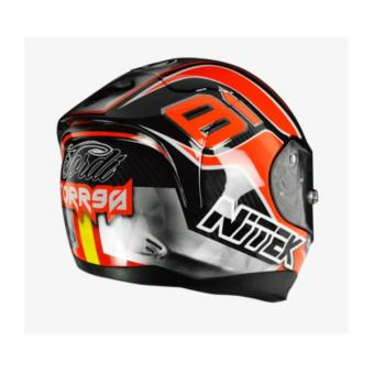 NITEK Handcrafted 00007 P1 Torres Suzuka Full Face Helmet ( 2017 Collection) - LARGE - 4
