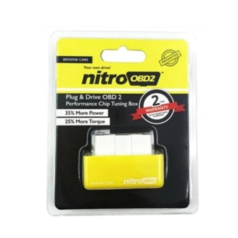 Nitro OBD2 For Petrol Car Chip Performance Tuning Plug & Play Auto ECU Remap (Benzine Cars) - intl Price Philippines