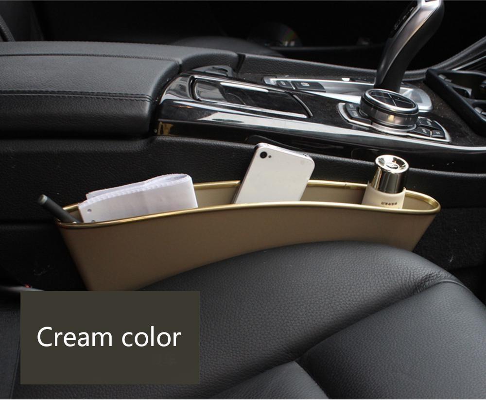 Philippines | noonbof 2 Pcs Car Seat Side Slit Pocket Catcher ...