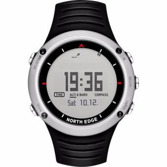 NORTH EDGE Men's sport Digital Smartwatch Hours Running Swimmingsports watches Altimeter Barometer Compass Thermometer Weather men