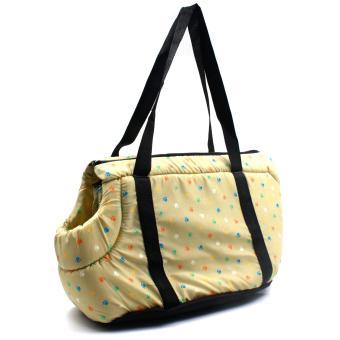 Nunbell Paws Pattern Pet Dog Carrier Bag - 2