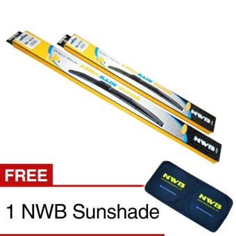 NWB Aero Rain Wiper Blade for Hyundai Santa Fe 2010-2015 - (SET)