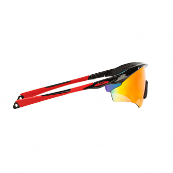 Oakley Sunglasses M2 Frame Xl (A) OO9345 - Sport Performance -Polished Black (934503) Size 45 Positive Red Iridium - 5