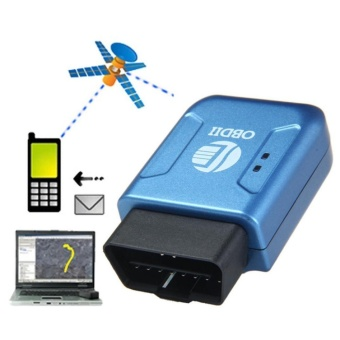 OBD2 OBDII GPS GPRS Real Time Tracker Car Vehicle Tracking SystemGeo-fence - intl