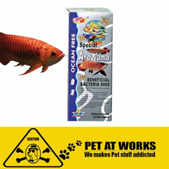 Ocean Free Super Arowana Beneficial Bacteria 9000 (150ml) FishMedicine for Arowana Price Philippines