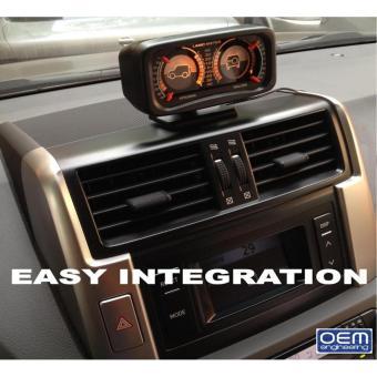 OEM Engineering DIY car Inclinometer 4X4 Offroad Car Gauge Carcompass - 3
