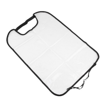 OH Car Seat Back Cover Protect for Baby (White)