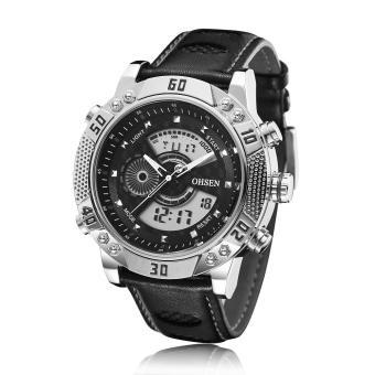 OHSEN 1505 Fashion Casual Military Digital LED Waterproof DivingWatch for Men