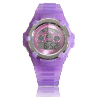 OHSEN Lovely Waterproof Digital Alarm Sport Wrist Watch For Kids Child Boy Girl