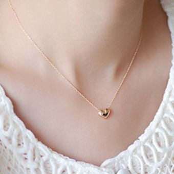 Okdeals Gold Plated Bib Statement Pendant Chain Necklace Jewelry gold