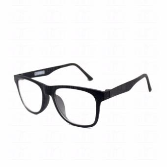 Optical Square 8616_BlackBlack Clear Lens Lightweight Replaceable Eyeglasses Multi-coated Computer Anti-Radiation Blue Lens - Unisex - 4