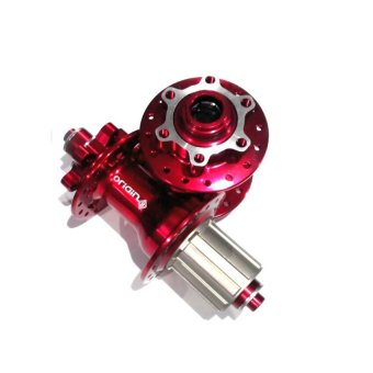 Origin 8 Sealed Bearing Hub Red