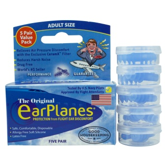 Original EarPlanes Adult 5 Pack Price Philippines