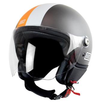 Origine Italy Open Face OR 00079 Mio Retro Grey Helmet (2017Collection) - LARGE
