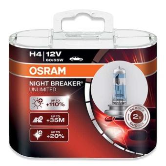 Osram H4 Night Breaker Unlimited Headlight Bulbs