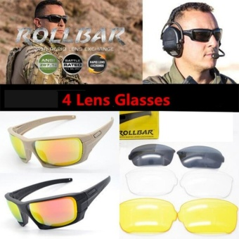 OSRE Tactical Military Glasses Army Goggles Safety Glasses Men Wargame Eyewear Cycling Sunglasses - intl - 2