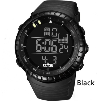 OTS Digital Watch Men Sports Watches 50M Waterproof Swimming LargeDial Hours Clock Military Wristwatches Man Relogio Masculino 7005 -intl