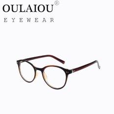 Oulaiou Fashion Accessories Anti-fatigue Trendy Eyewear ReadingGlasses OJ9233 - intl