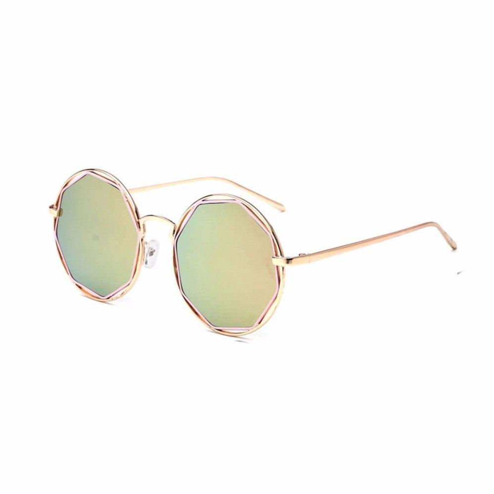Oulaiou Men's Fashion Accessories Anti-UV Trendy Reduce GlareSunglasses O7071s - intl .