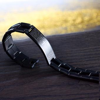 Our Father Bracelet Matte Black Price Philippines