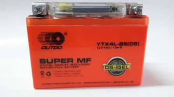 OutDo YTX-4L-BS(DS) Gel Type Motorcycle battery Price Philippines