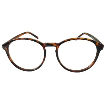 Oxford Eyeglasses Tortoise Frame Clear Lens Sunnies