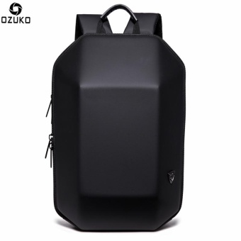 OZUKO 15.6-inch Laptop Backpack Large Capacity Business BackpackAnti-theft Travel Bag Casual School Bag - intl