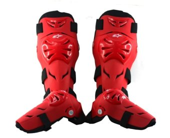 P105 Alpinestra Knee and Elbow Pad Support (Red) Price Philippines