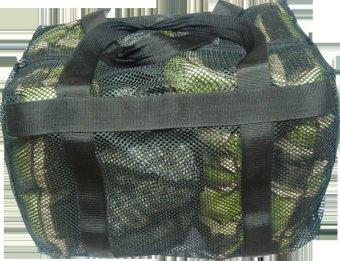 Paccube Mesh Duffle Bag Small (Black)