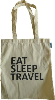 Paccube Wander Eat Sleep Travel Tote Bag