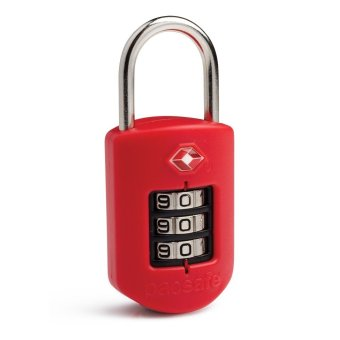 Pacsafe Prosafe 1000 Luggage Locks Red