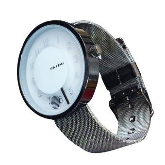 Paidu 1135 Women White StainlessSteel Grid Watch (White) #0127 - 2