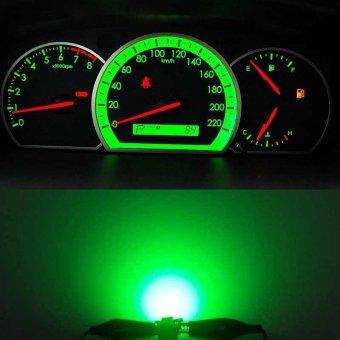 PAlight 10pcs T5-B8.5D-5050smd LED SMD Lamp Car Gauge Speed Dash Bulb Dashboard Instrument Light 12V - intl - 3
