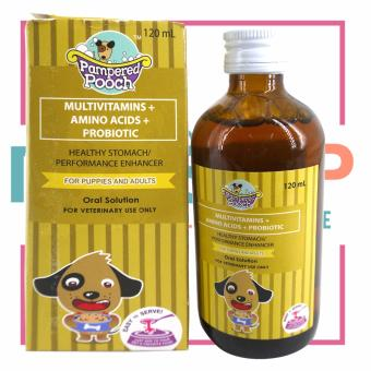 Pampered Pooch Multivitamins Healthy Stomach/Performance Enhancer120 ml