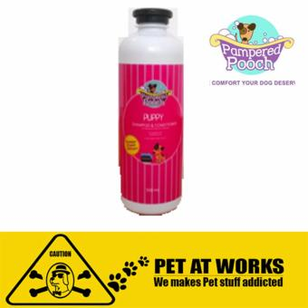 Pampered Pooch Puppy (500ml) Organic shampoo and conditioner forDog