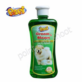 Papi Groom and Bloom Non-Toxic Herbal Shampoo - 500mL (Green)