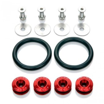 Password JDM Bumper Fastener (Red)