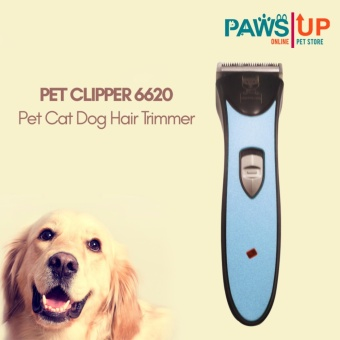 Paws UP Pet Cat Dog Hair Trimmer Grooming Kit (Blue)