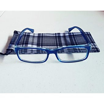 PC TV Anti Radiation And Fatigue Non Fatigue Eye Glasses (BLUE)