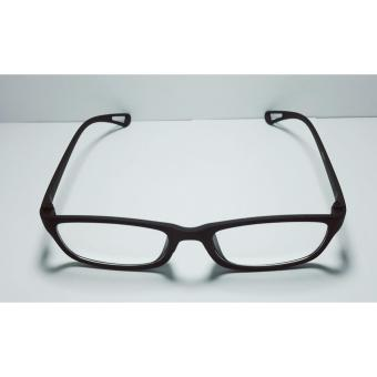 PC TV Anti Radiation And Fatigue Non Fatigue Unbreakable Eye Glasses (BLACK) - 2