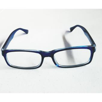 PC TV Anti Radiation And Fatigue Non Prescription Eye Glasses(blue) - 2