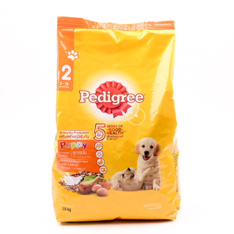 Pedigree Puppy Chicken and Egg Dry Dog Food 1.5kg