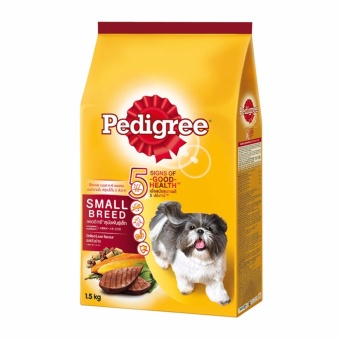 Pedigree Small Breed Grilled Liver Flavor 1.5kg