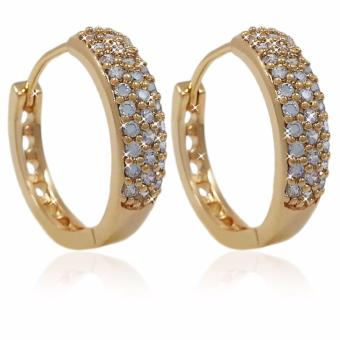 Persian Princess Ulfah 18K Yellow Gold Clip Earrings (Big)