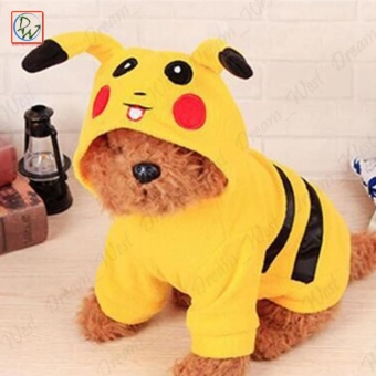 Pet Apparel Dog Cat Pikachu Costume Dog Clothes Dog Costume (Large)