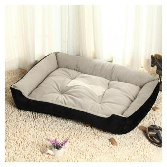 Pet Bed Waterproof Soft Cotton Dog Bed Supplies (Black) Price Philippines